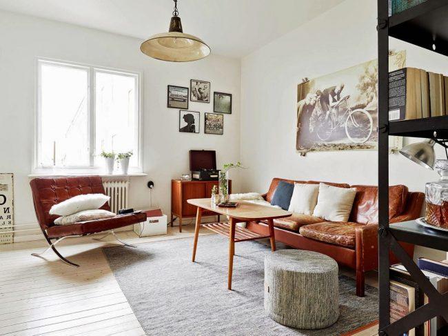 Casas vintage 70 salones comedores dormitorios cocinas y for Adornos para el salon de casa