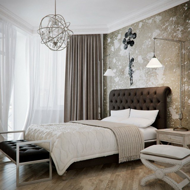 Colores para habitaciones 2018 modernos 65 fotos e ideas - Mezclar colores para pintar paredes ...