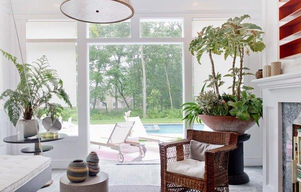 Decoraci n con plantas 70 fotos y consejos de interiores - Macetas interiores decoracion ...