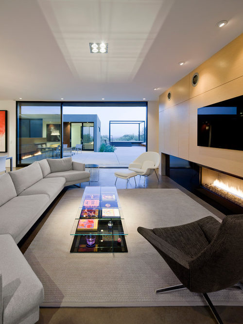 Muebles de sal n modernos 2019 100 fotos e ideas - Muebles salon modernos ...