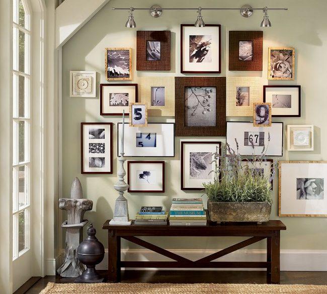 decorar paredes con fotos - Decorar Paredes Con Fotos