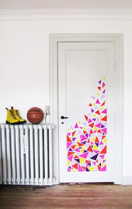 Puertas decoradas de 50 fotos y muchas ideas de - Puertas de madera decoradas ...