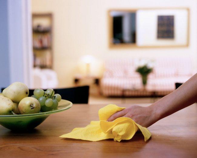 Cómo limpiar la casa rápido