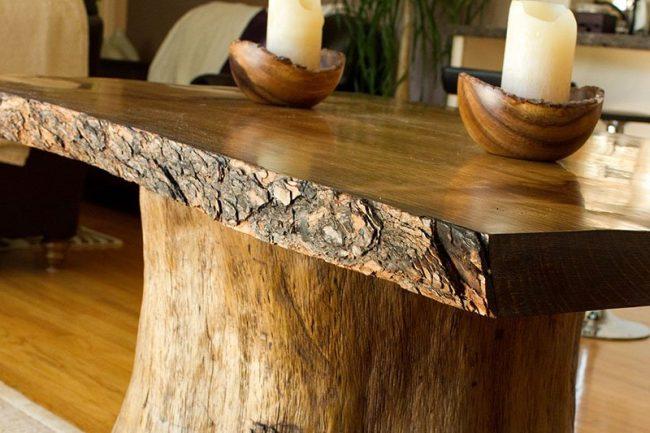 Cómo quitar manchas de muebles de madera