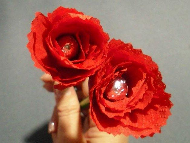 Como Hacer Rosas De Papel O Tela 4 Ideas Faciles Y Bonitas Brico Y - Cmo-hacer-rosas-de-papel