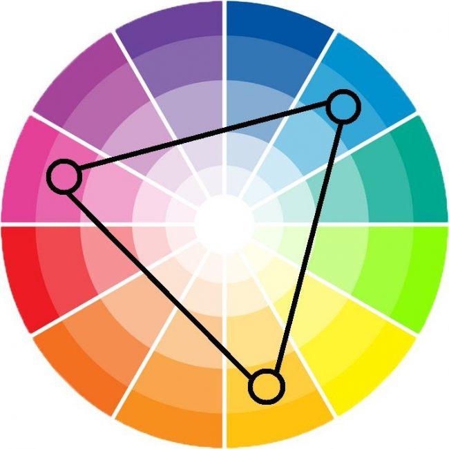 Colores tri dicos en decoraci n de interiores fotos e for Cuales son los colores minimalistas