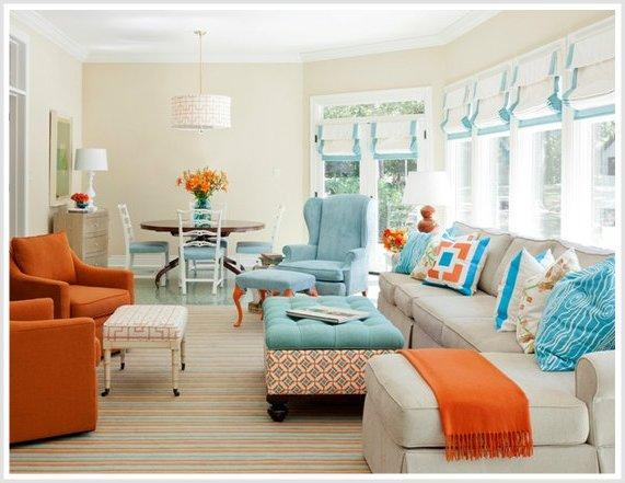 Combinaci n de colores para interiores seg n la teor a del for Combinacion de dos colores para interiores