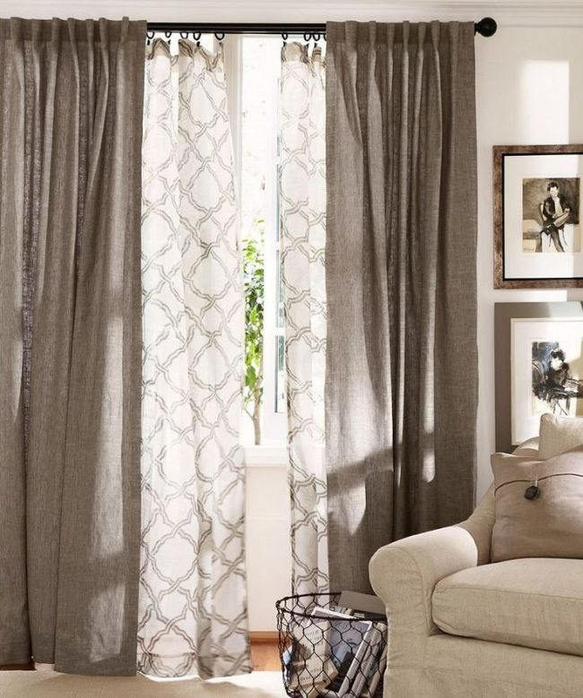 Telas para tapizar y decorar tendencias modernas 2018 for Cortinas estampadas modernas