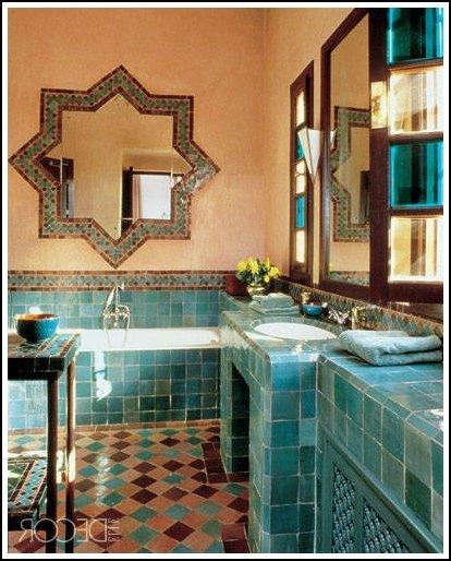 Decoraci n rabe 100 fotos e ideas de dise o para inspirarse for Disenos de espejos para habitacion