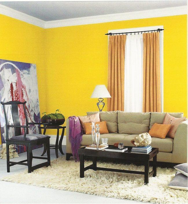 Combinaci n de colores para interiores seg n la teor a del for Combinaciones de color verde para interiores