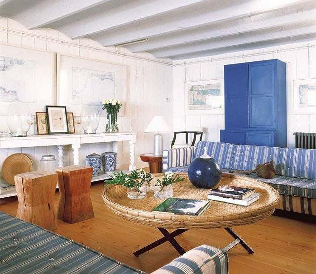 Casas mediterr neas 55 fotos e ideas de fachadas e - Muebles estilo mediterraneo ...