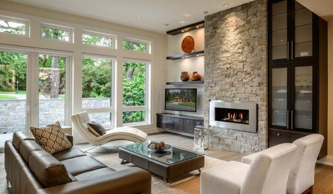40 casas contempor neas fachadas dise o y decoraci n for Decoracion interior de casas minimalistas