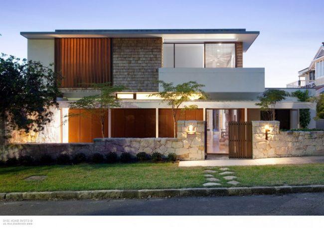 40 casas contempor neas fachadas dise o y decoraci n for Diseno de oficinas contemporaneas