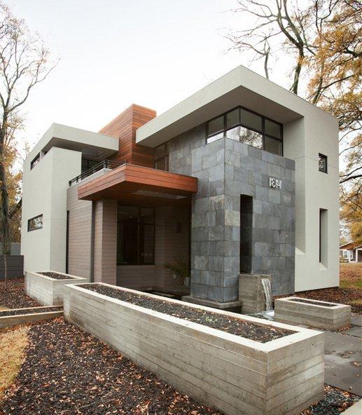 Casas modernas 2019 100 fotos de fachadas e interiores - Materiales para fachadas exteriores ...