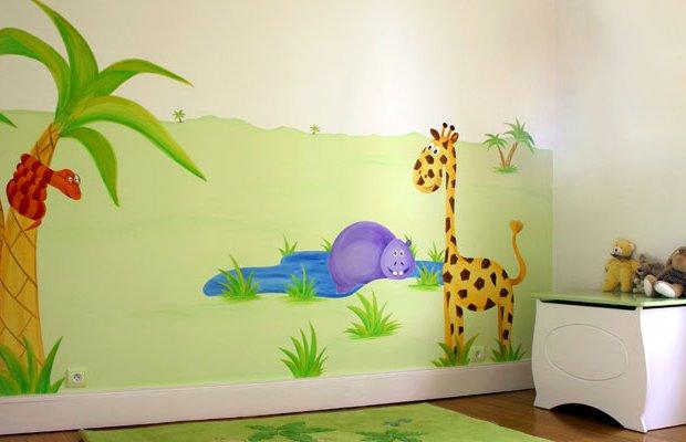 Murales infantiles para dormitorios de ni os y ni as 20 - Murales habitaciones infantiles ...