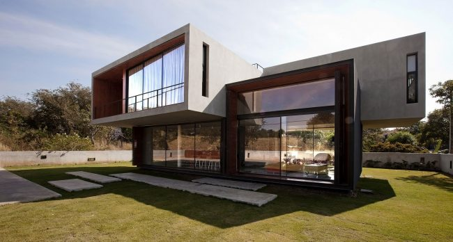 40 casas contempor neas fachadas dise o y decoraci n for Estilos de arquitectura contemporanea