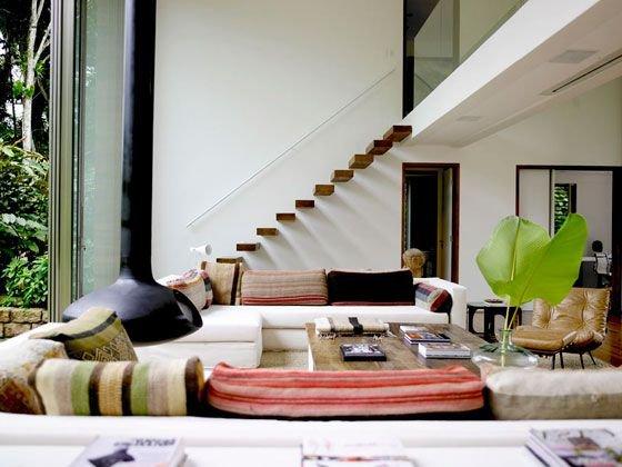 Casas modernas 2019 100 im genes de fachadas e interiores for Decoracion de casas interior modernas