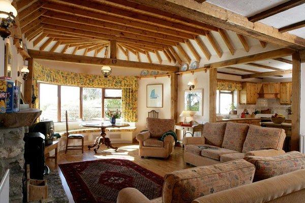 Casas de campo modernas o tradicionales 70 im genes for Casas de campo decoracion interior
