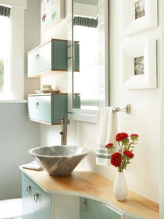 Muebles de ba o modernos de 50 fotos e ideas brico y deco for Deco banos modernos