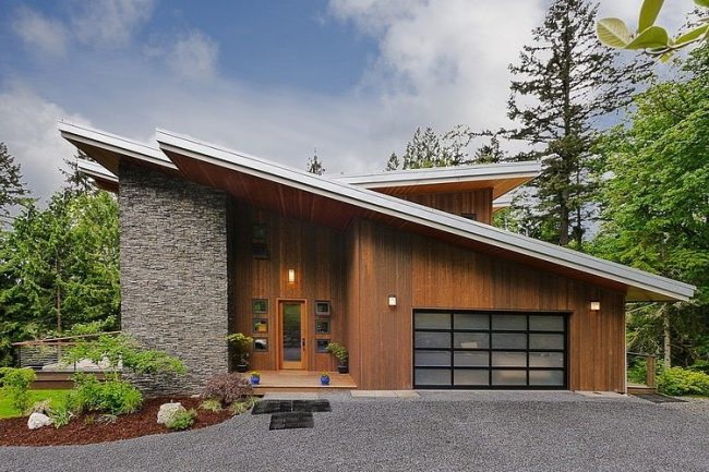 Casas de campo modernas o tradicionales 70 fotos e ideas for Cubiertas para casas campestres