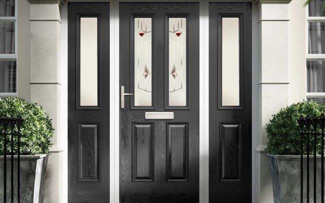 Colores para puertas 40 fotos e ideas para inspirarse for Modelos de puertas metalicas para viviendas