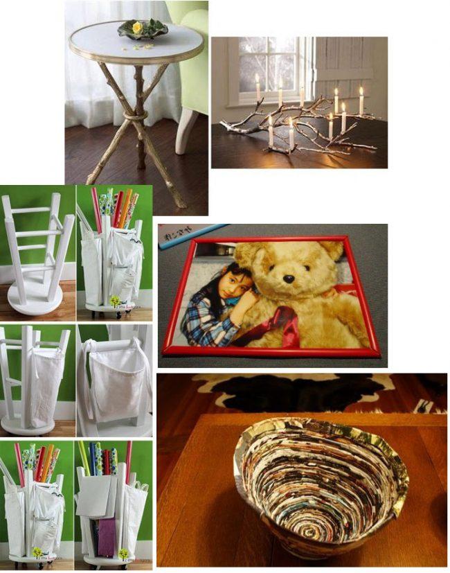 Manualidades recicladas f ciles para el hogar - Manualidades y bricolaje para el hogar ...