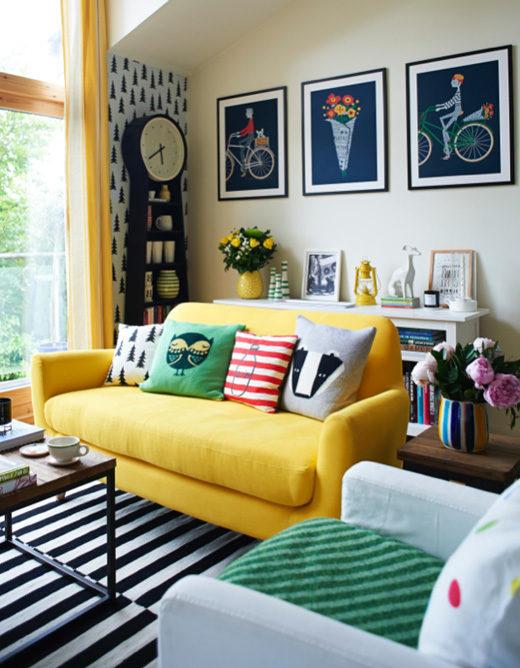 Casas coloridas fachadas e interiores con colores llamativos for Colores interiores de casa 2016