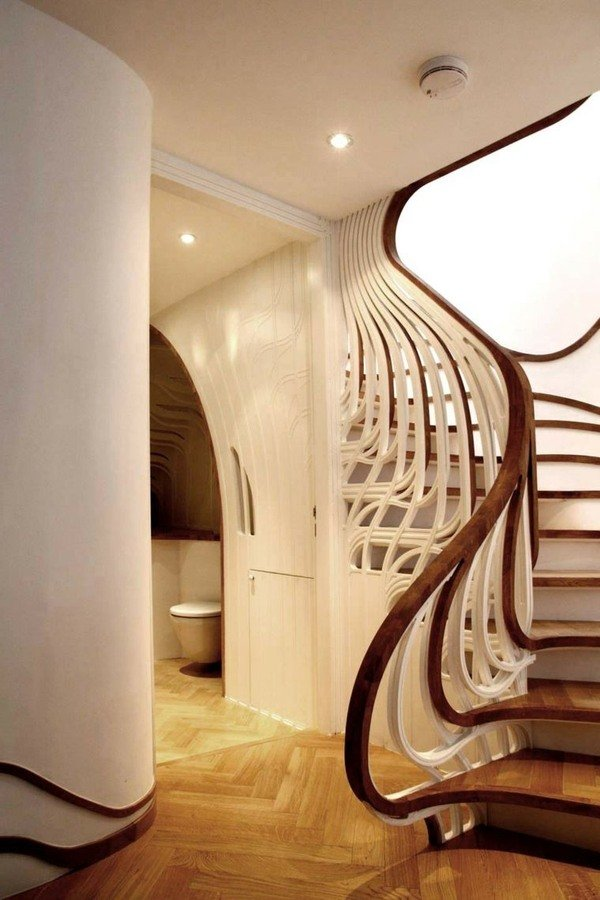 Escaleras modernas de interior 120 fotos e ideas de dise o for Clases de escaleras