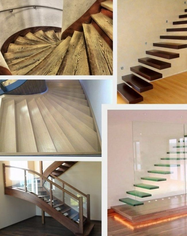 Tipos de escaleras para interiores tipos de escaleras - Tipos de escaleras interiores ...