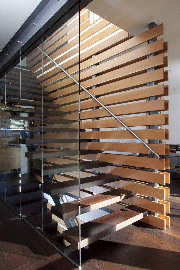 en general las escaleras con descanso se utilizan en espacios pblicos tales como escuelas hospitales y hoteles