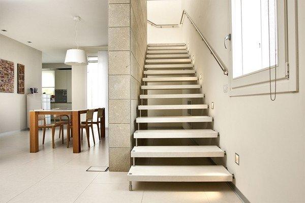 Escaleras modernas de interior 120 fotos e ideas de dise o for Modelos de escaleras de concreto