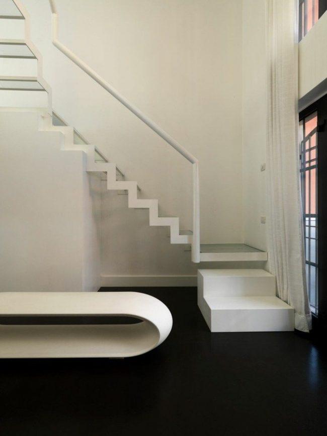Escaleras modernas de interior 120 fotos e ideas de dise o - Escaleras diseno interior ...