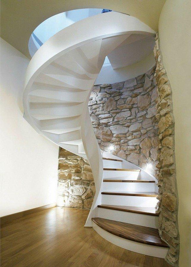 Escaleras modernas de interior 120 fotos e ideas de dise o - Materiales para escaleras ...