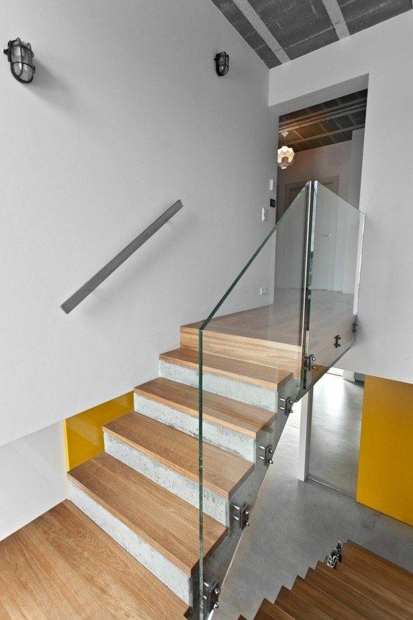 Escaleras modernas de interior 120 fotos e ideas de dise o for Escaleras con descanso para interior