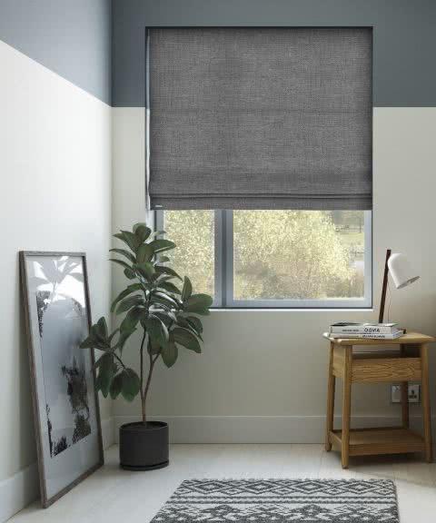 Cortinas modernas 2018 para salones cocinas y dormitorios for Cortinas para cocina gris