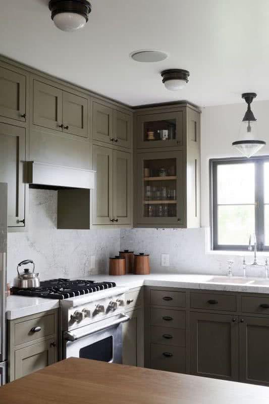 Colores para cocinas 2019 70 fotos y tendencias modernas for Enchapes para cocina modernos