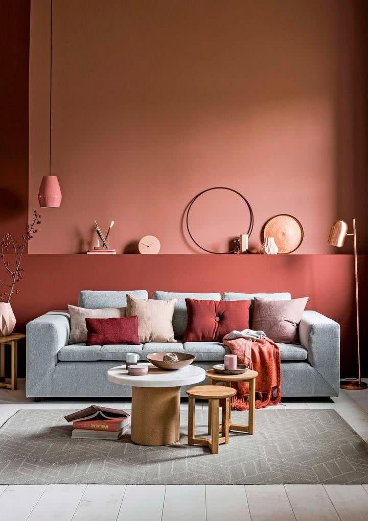 Colores para salas 2020 2019 50 fotos de combinaciones - Colores para combinar con gris ...