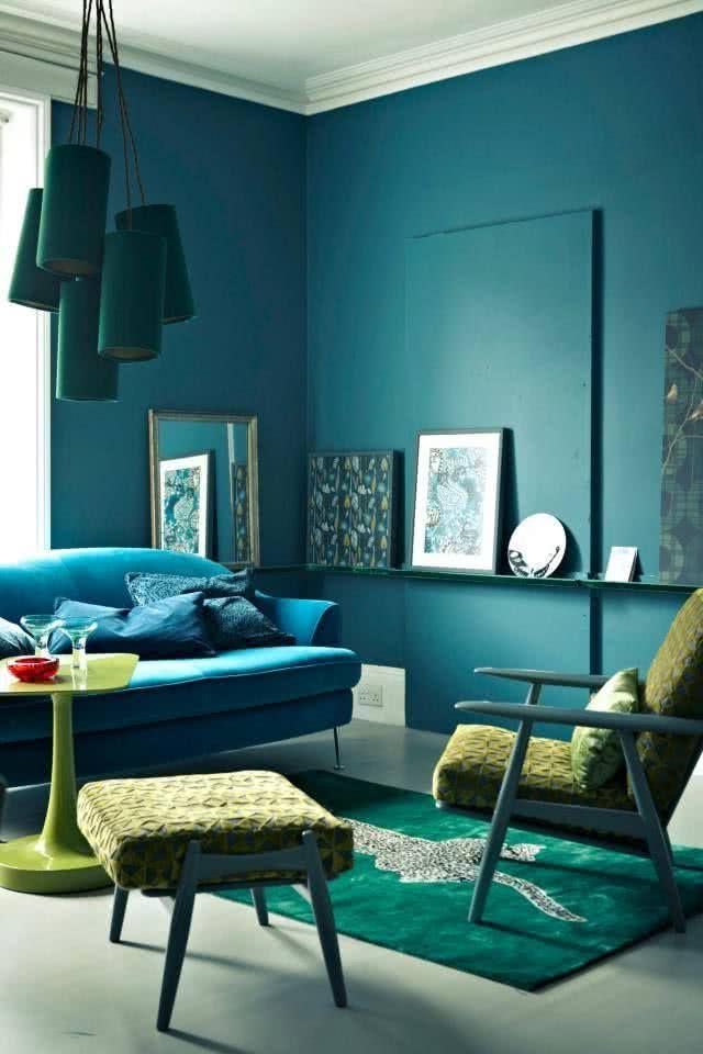 Colores para salas 2018 modernos 40 fotos de combinaciones for Colores para departamentos modernos
