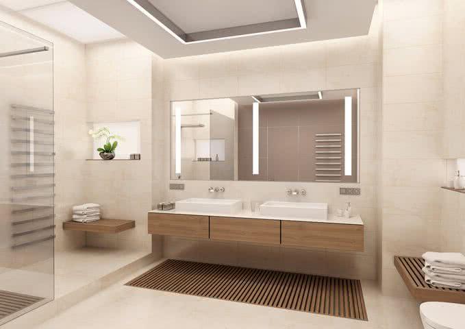 Baños modernos 2019 + de 130 imágenes de tendencias y diseños