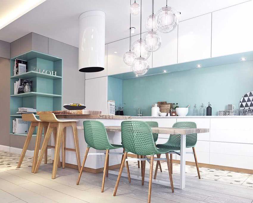 Colores Para Cocinas 2019 70 Fotos Y Tendencias Modernas