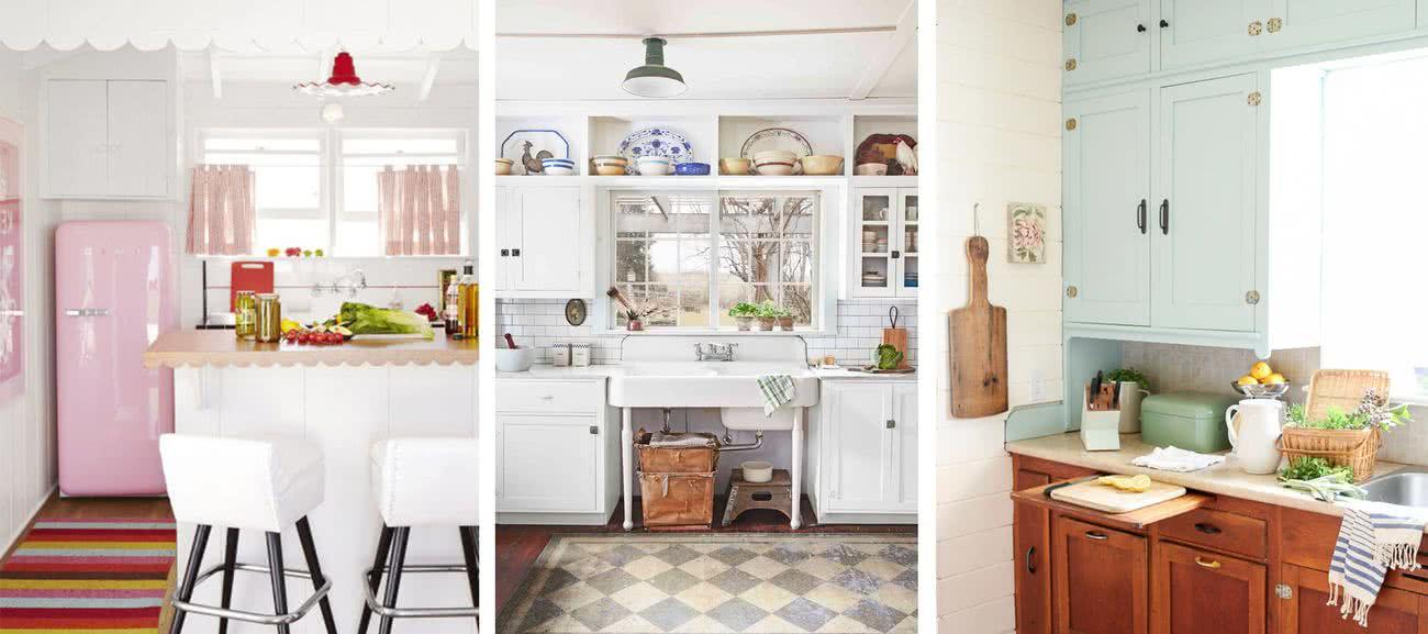 70 Cocinas Vintage Ideas Y Decoracion Para Inspirarse