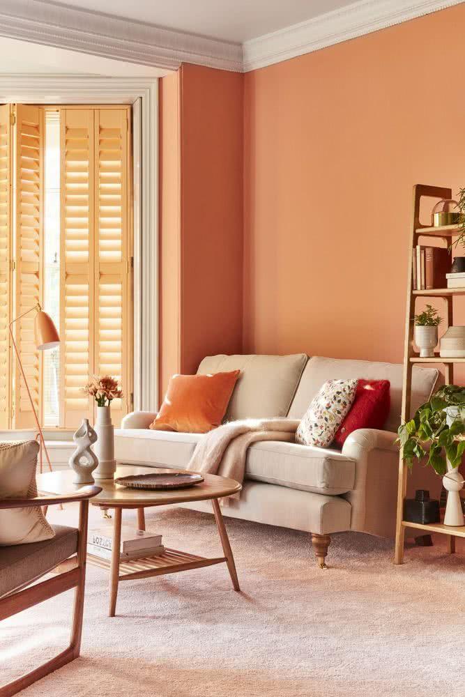 ideas de sala neutral marrón Colores Para Salas 2020 2019 50 Fotos De Combinaciones