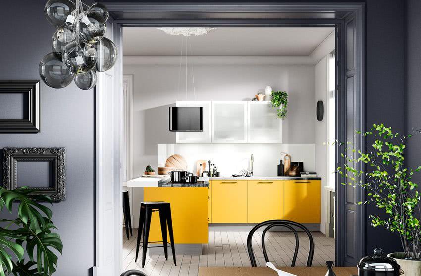 Colores Para Cocinas 2019 2018 70 Fotos Y Tendencias Modernas - Colores-para-pintar-una-cocina