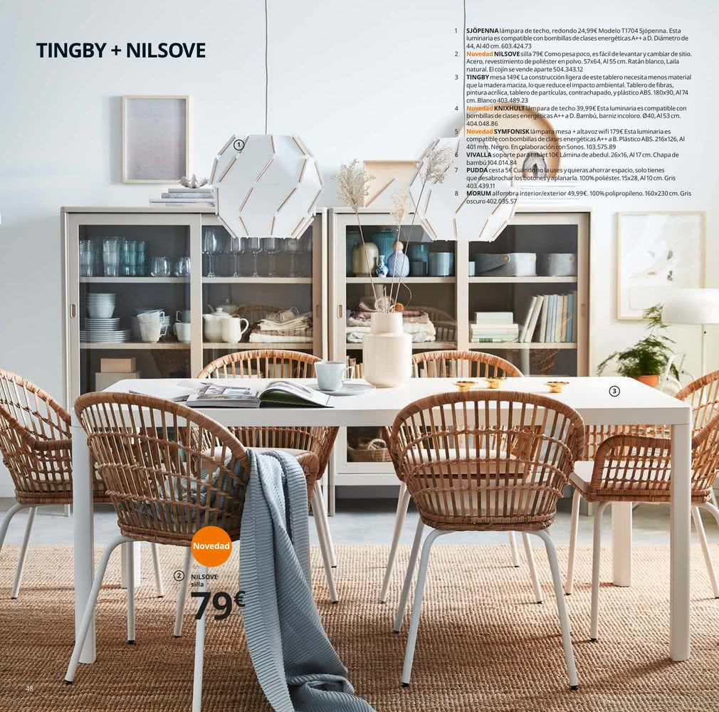 Comedores IKEA 2020 mesas, sillas y vajilla al mejor precio