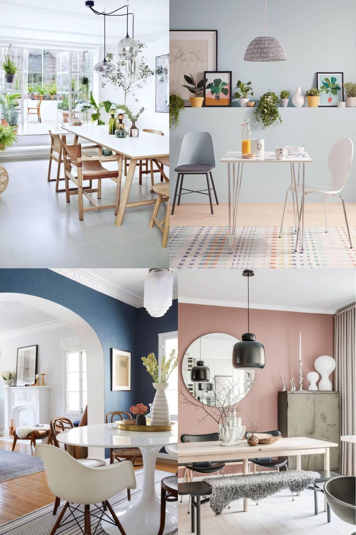 Colores para el comedor 2020 80 imágenes y tendencias modernas