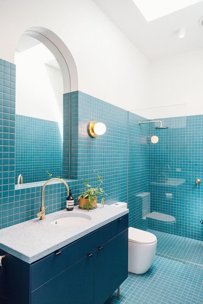 Colores para baños 2021 50 estilos modernos y elegantes