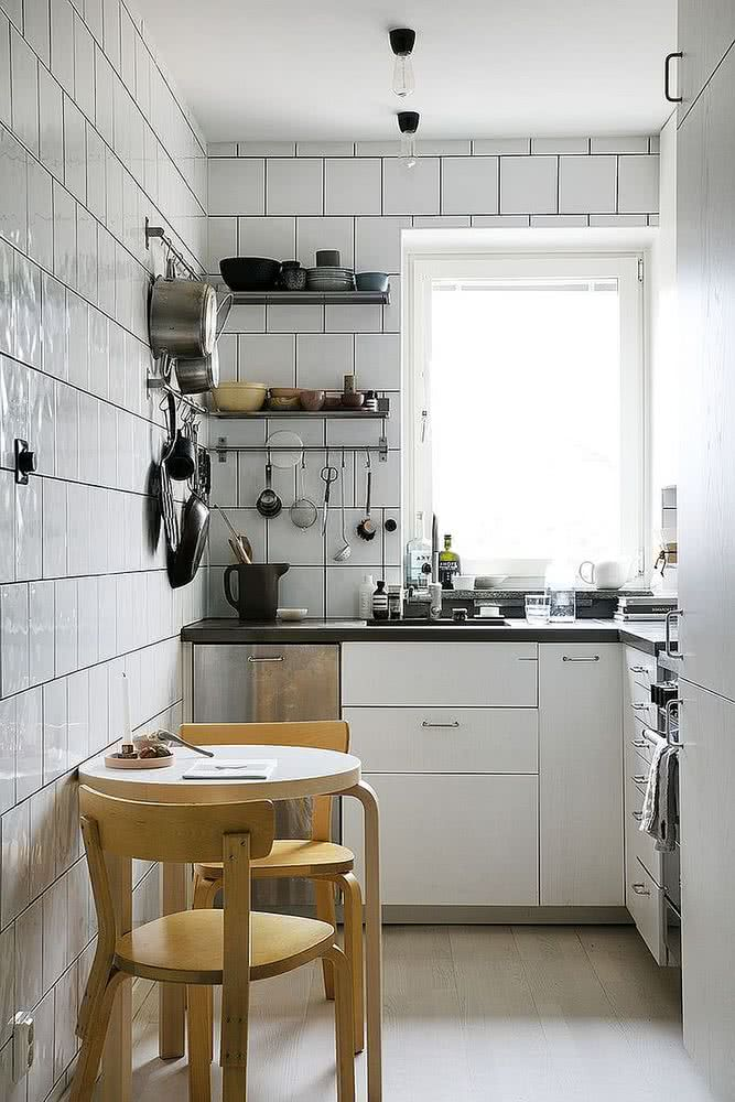 Cocinas pequeñas 2020 – 80 fotos y tendencias en diseño y ...