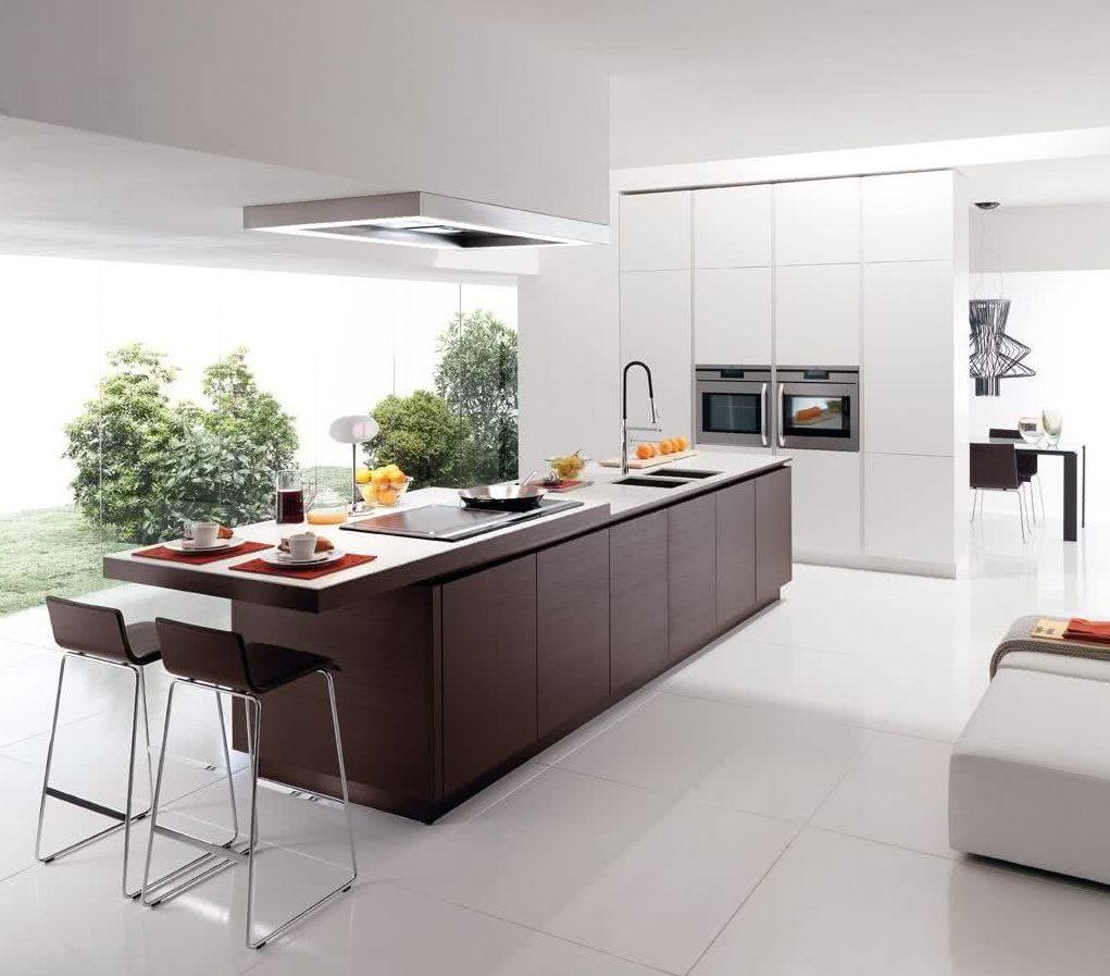 45 Cocinas minimalistas modernas 2021 - imágenes