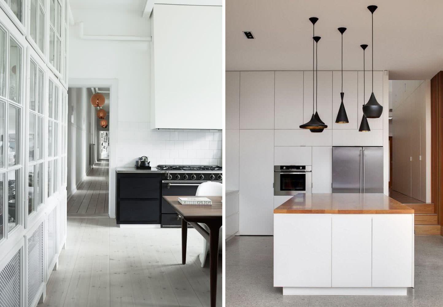 45 Cocinas minimalistas modernas 2020 - imágenes