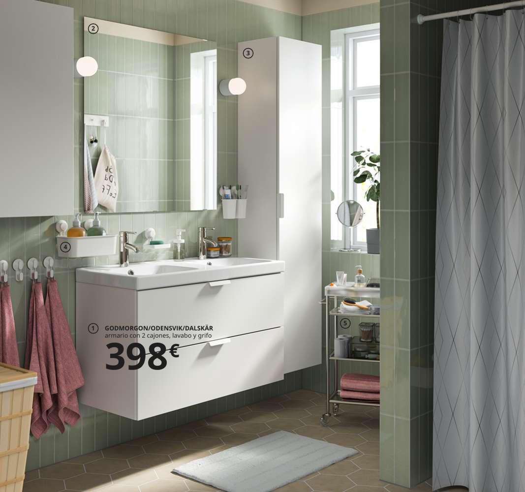 Baños IKEA 2021 2020 fotos y precios de su nuevo catálogo